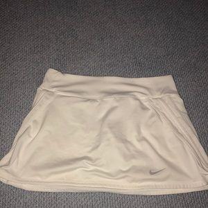 Girls White Tennis Skirt